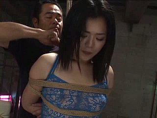 Virginal Oriental girls realize their butts tied and screwed