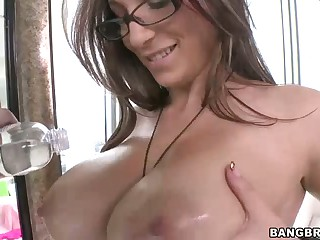 Jasmin has very admirable big natural tits