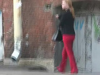 Street wetting in red
