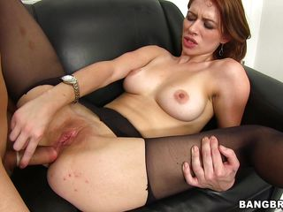 nicole rider takes a large rod deep in her ass