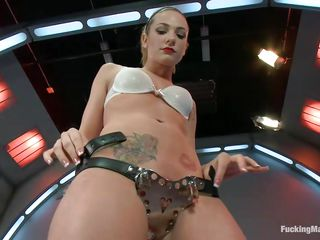 bailey blue masturbating solo with her big inky vibrator