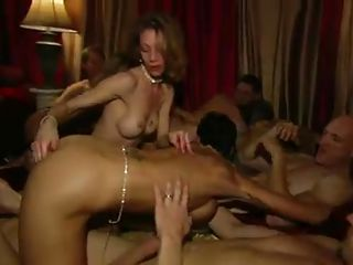 crazy group sex at the party