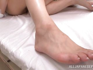 japanese nurse with a hairy wet crack