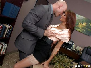 monique alexander is getting her pussy fingered at work