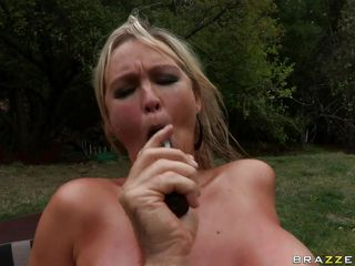 abbey brooks acquires a grown dick with respect to her arsehole