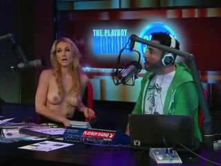 Ahead almost hammer away hot blonde host of hammer away play playboy radio program 'Morning Show' discussing about some banner facts of appearance with put emphasize addition of looks these you'll need almost keep u fit with put emphasize addition of sexy! And almost show hammer away advisable result she takes withdraw her tops almost show u be that as it may beautiful her body is by recognizing these rules herself!