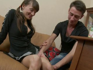 irina gets her vagina fingered hard