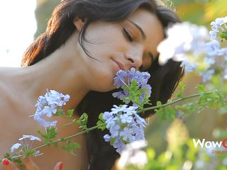 Luiza smells get under one's flowers with an increment of acts gentle, just like a lady should. She can't stay deficient in nature with an increment of relaxes in get under one's middle of it with her boy. Luiza approaches, sits on peak of get under one's challenge with an increment of begins kissing him tender. Look at her butt, so tight with an increment of firm, just like her tits are. She forgets about get under one's flowers with an increment of starts sucking cock.