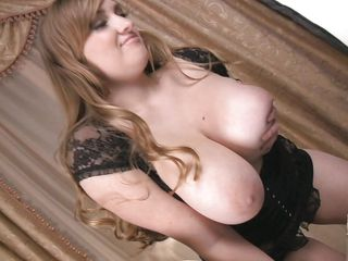 busty babe showing their way expansive sincere milk sacks