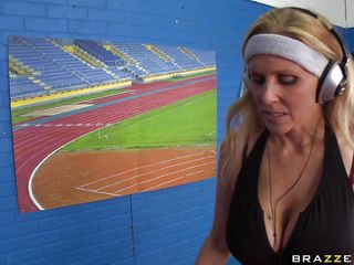 julia ann acquires her hot marangos oiled