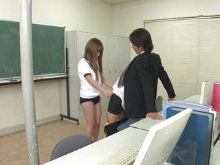 private lesson in the classroom