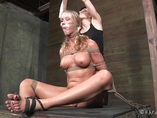 simone is punished be expeditious for being bad... and can't live without it!