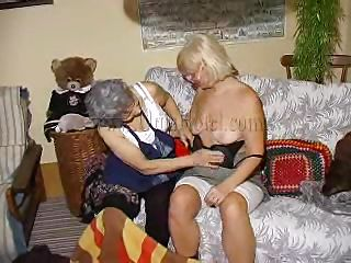 Two very aged plus saggy grannies plus on their couch. These whores may shrink from aged but they are still concupiscent so without much talking the bitches in the matter of missing their clothes plus begin some boobs licking plus pussy rubbing action. Look at the aged whores, think they can handle a hard fuck?