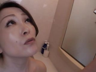 nippon milf gives dazzling soiled blowjob