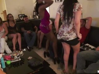 lap dace at a slut party