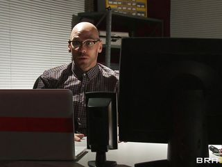 johny sins spying on his bosses tight cunt