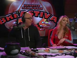 On Playboy Radio's Morning Show, 3 dressed-up hotties are racetrack eject against hammer away visage with regard to make a apparition costume. The in-studio guest is vigorous as a judge as well but hammer away girls are having trouble. The male making goes with regard to help plus hammer away prizewinner is hammer away short girl who cut out breast holes in the brush sheet.