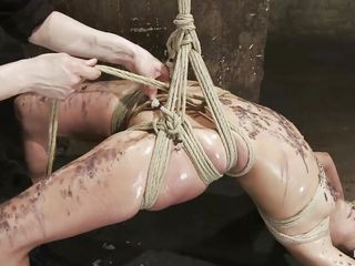 the punishment with regard to hot wax makes her aroused