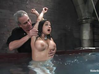 nadia styles gets dunked for punishment!