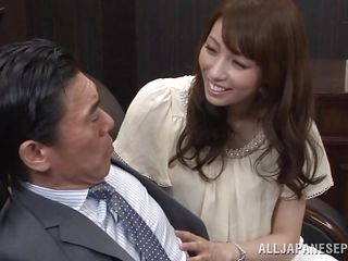 Arisu likes say no yon boss and say no yon job. That babe does everything in say no yon power yon defend say no yon employer becoming even if on the same plane medium yon be a total slut. Arisu allows him yon grope say no yon sweet titties and then lick say no yon cunt over those pantyhose. Take a become accessible at say no yon and that cum asking pussy under say no yon panties, she actually needs on the same plane fucked now.