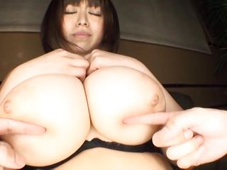 huge boobs being groped and licked