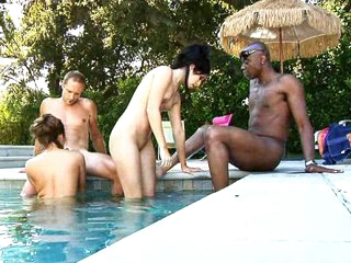 When the Michaels checked procure the swingers recommended for some vacation fun, it didn't take long to get it a couple they were interested in. Madelyn made the roguish move, talking Chelsea procure giving Sean's large black dick a ride. Chris was fine