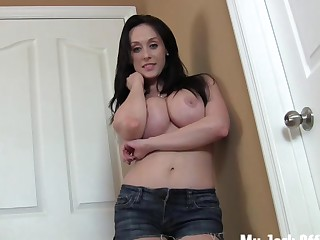Big mounds jerk off encouragement JOI