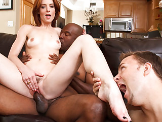 Riley Shy in Cum Gnawing away Cuckolds