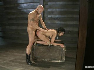 Dominated doxy loves getting drilled from behind