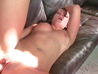 Hardcore stuffing for a looker close by a juicy bore