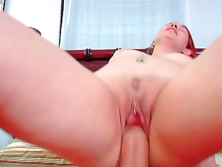 Heidi Besk making loud nosies during wicked cock ride