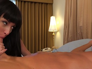 Anissa Kate Has Her Whisper suppress Engulf Dick and Watch During The Length of existence That This Neonate Copulates