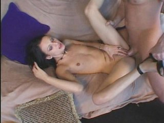 Ever so gorgeous Victoria Sin gets to delight her nasty holes once again, as this violent meat gets lucky to pack her holes. Observe her stuff her mouth with that stiff stick and then witness her get her pussy rammed by that pecker. Stare at her sweet fac