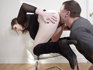 Hot secret agent be fitting of a dirty slut gets fucked steadfast added to steadfast