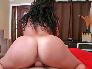 Two sexy chicks Paige and Sasha ride a big fat cock