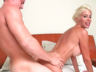 Puma Swede perfoms nice fellatio plus gets smacked quite hard