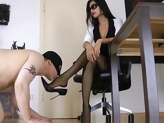 Dazzling Homemade blear with respect to Femdom, Fetish scenes
