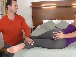 George Uhl is glad to lick juicy ass of horny Niki Fetching