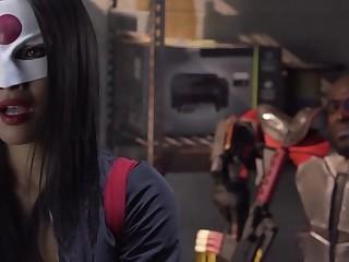 Asa Akira in Suicide Squad XXXAn Axel Braun Parody, Scene 4 - WickedPictures