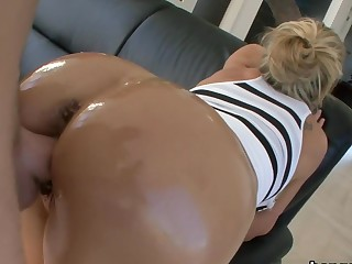 Waxen milf has a huge ass
