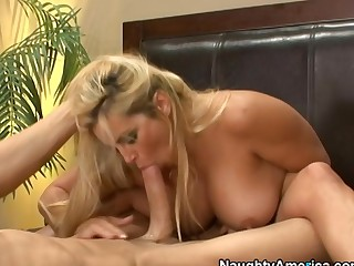 Friday & Criss Strokes in My Guests Hot Mom
