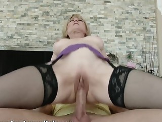 MommyBB Real Matured Woman fucking her STEPSON