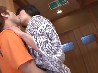 Pretty of age hottie Chiaki Takeshita loves hard cock