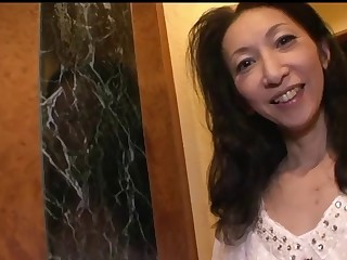 50yr old Granny Michiko Nanbara Creamed Doubled (Uncensored)