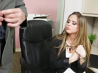 Rachel Roxxx & Billy Glide in Putrefied Office