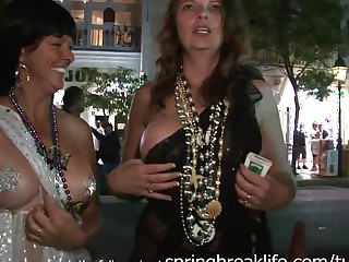 SpringBreakLife Video: Fantasy Fest Troop Girls