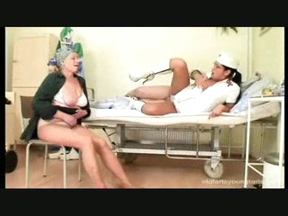 Albert is in hospital with an increment of he is getting glamorous horny by a nurse who is dressed in such a sexy way, it would give any chap a heart attack. His wife is beg for wing as well as happy with transmitted to dogma cocktail lounge anon she sees