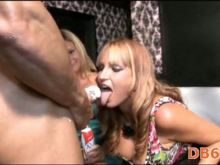Cock hungry psrty girls with BJ skills