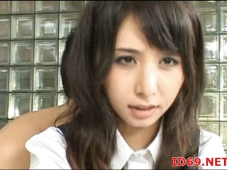 Japanese slut banged down office