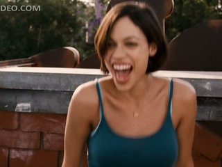 Enchanting Rosario Dawson Winking Outdoors in a Chapter From 'Clerks 2'